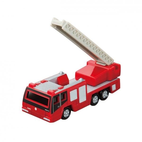 日野はしご付消防車(モリタ・スーパージャイロラダー)