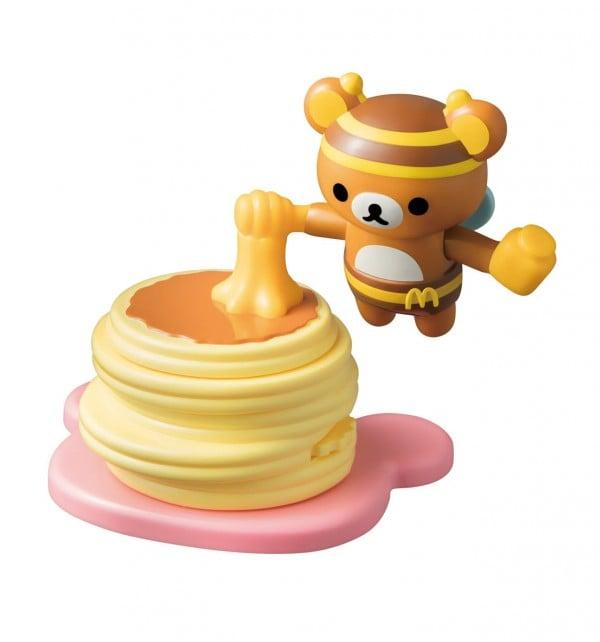 プチパンケーキとみつばちリラックマ