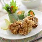 生しょうゆ糀の鶏竜田揚げ